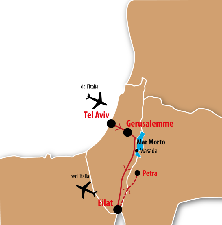 Cartina Israele Giordania.Israman Triathlon Ironman Tour Israele Triathlontravel