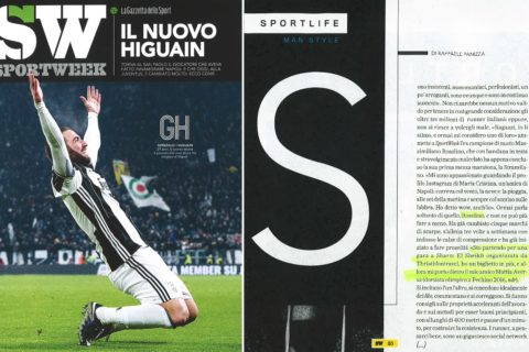 Massimiliano Rosolino su Sportweek