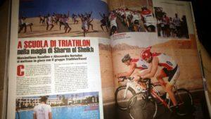 Sharm Sport sul numero del 30 aprile dell'allegato della Gazzetta dello Sport