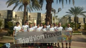 gruppo TriathlonTravel a Israman 2015