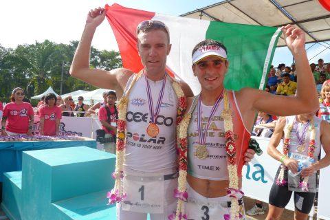 Massimo Cigana e Alberto Casadei Laguna Phuket Triathlon