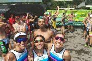 Atleti al Triathlon di Bardolino